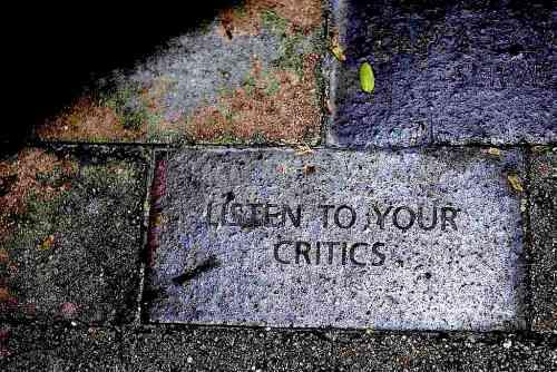listentoyourcritics